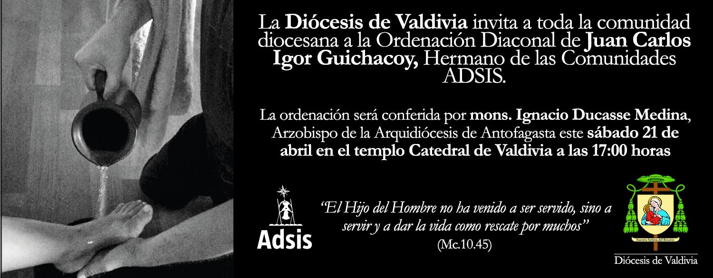 Banner Banner Ordenación Diaconal de Juan Carlos Igor