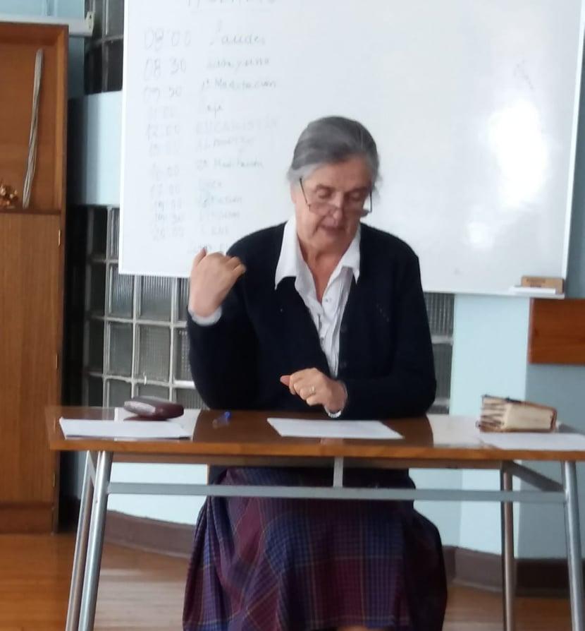 Hermana Isabel García, Religiosa del Sagrado Corazón de Jesús
